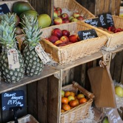 fresh organic fruit at burwash larder
