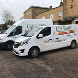 Les Ward Wholesale Fruit and Vegetables, one of the sellers we have on site